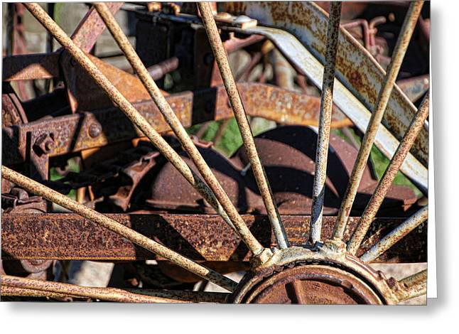 Farm Equipment 5 Greeting Card by Ely Arsha