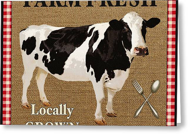 Farm Fresh-jp2381 Greeting Card by Jean Plout