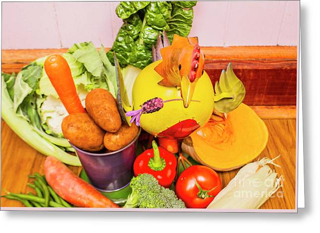 Farm Fresh Produce Greeting Card by Jorgo Photography - Wall Art Gallery