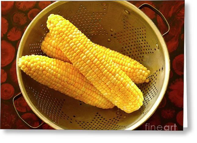 Farm Fresh Sweet Corn Greeting Card