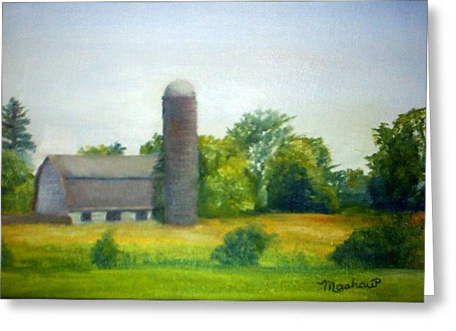 Farm In The Pine Barrens  Greeting Card by Sheila Mashaw