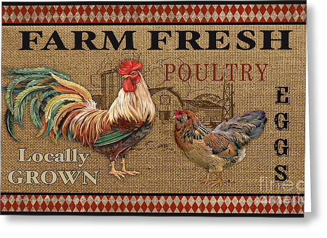 Farm Life-jp3238 Greeting Card by Jean Plout