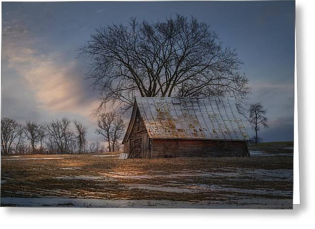Farm Shed 2016-1 Greeting Card by Thomas Young