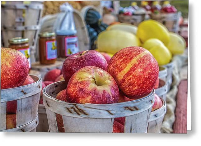Farm Stand Greeting Card by Lori Parsells