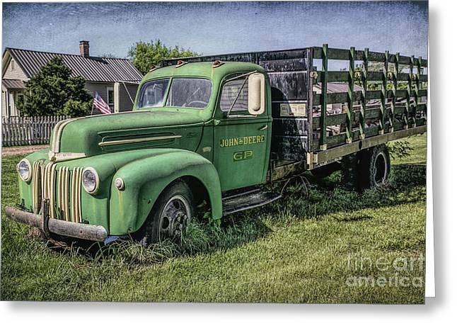 Farm Truck Greeting Card