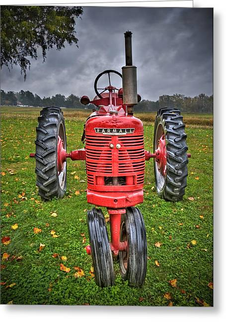 Farmall 1 Greeting Card
