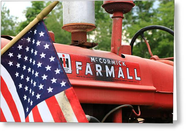 Farmall 2 Greeting Card
