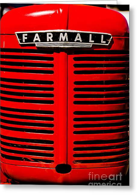 Farmall Grill Greeting Card