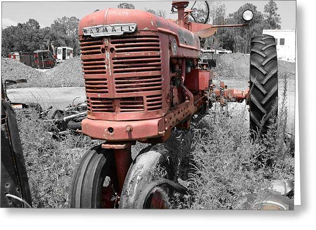 Farmall Red Greeting Card