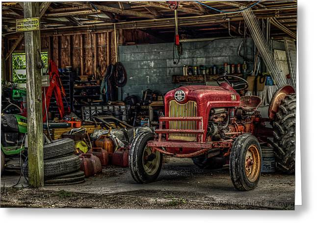 Farmall Tractor - Forever Florida Greeting Card