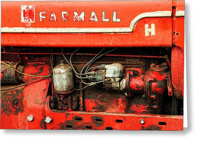 Farmall Tractor - Old Reliable Greeting Card