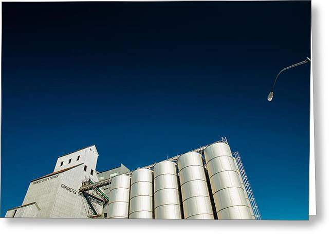 Farmers Grain Exchange Greeting Card