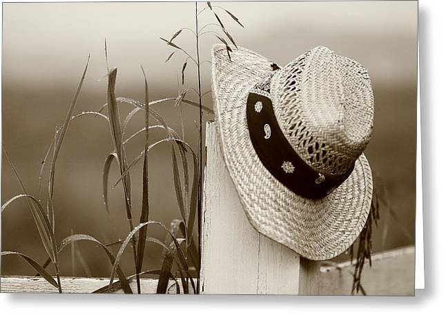 Farmers Hat Greeting Card