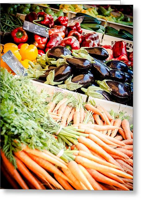 Greeting Card featuring the photograph Farmer's Market by Jason Smith