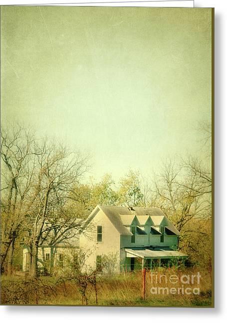 Greeting Card featuring the photograph Farmhouse In Arkansas by Jill Battaglia