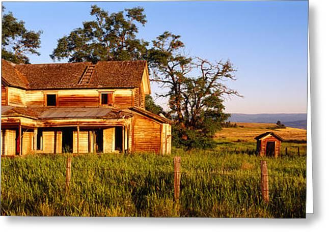 Farmhouse On A Landscape, Imbler, Union Greeting Card