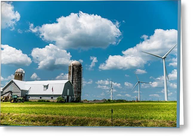 Farming Usa Greeting Card