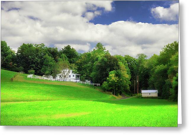 Farmland Greeting Card