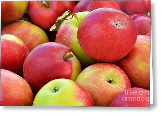 Farmstand  Fresh-picked  Apples Greeting Card