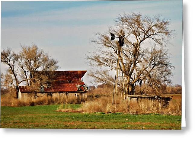 Farmstead 2 Greeting Card by Lana Trussell