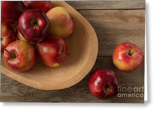 Farmtable Apples Greeting Card