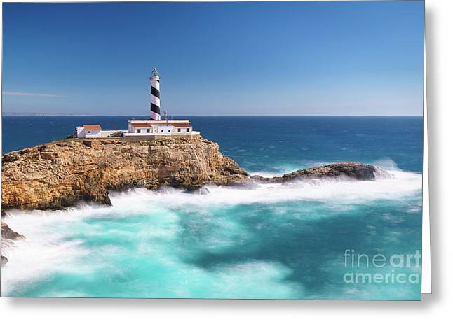 Faro Cala Figuera Greeting Card