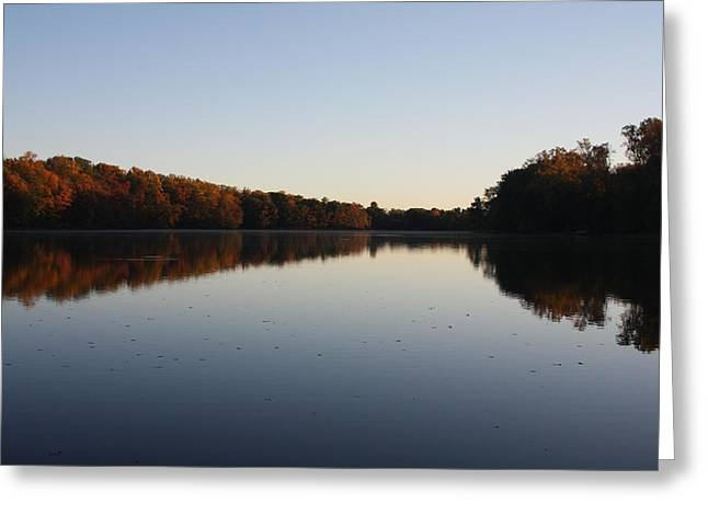 Greeting Card featuring the photograph Farrington Lake Autumn by Vadim Levin
