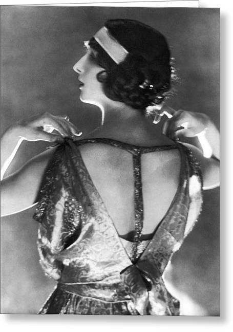 Fashion, 1920s Greeting Card