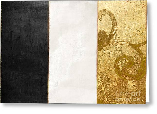 Fashion France Flag Greeting Card by Mindy Sommers