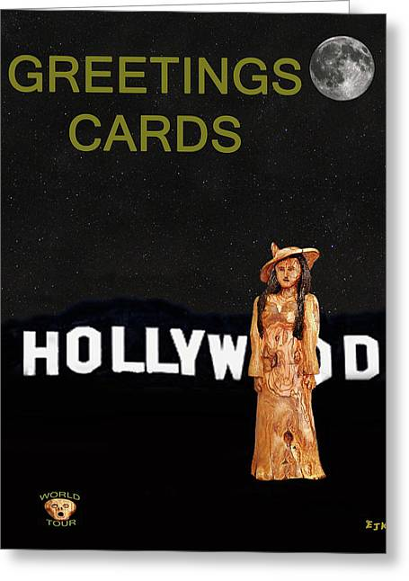 Star Valley Mixed Media Greeting Cards - Fashion of the Stars Greeting Card by Eric Kempson