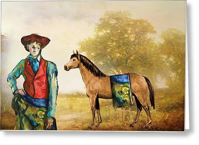 Fashionably Western Greeting Card