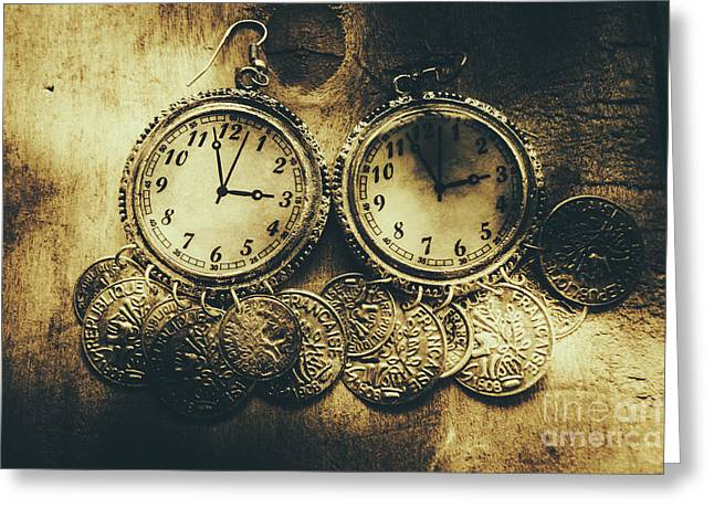 Fashioning The Time And Money Conundrum Greeting Card by Jorgo Photography - Wall Art Gallery