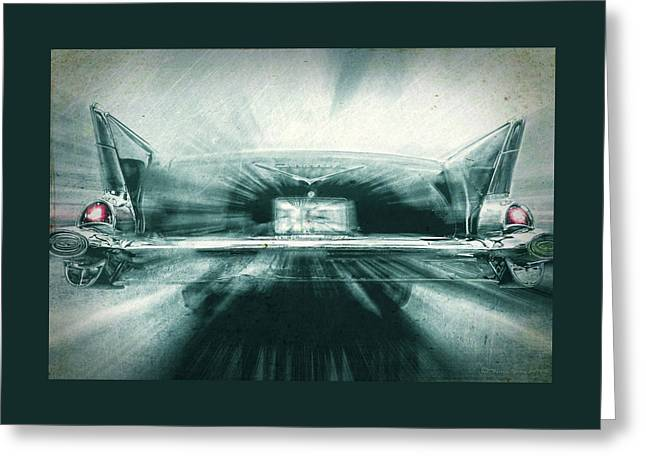 Fast 57' Greeting Card by Marvin Spates