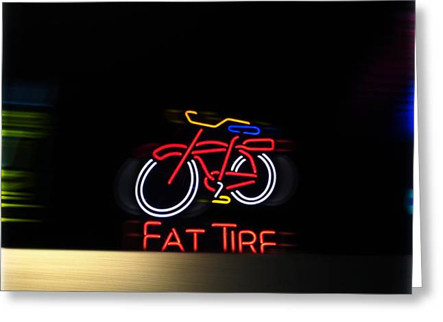 Fat Tire  Greeting Card by Steven  Digman