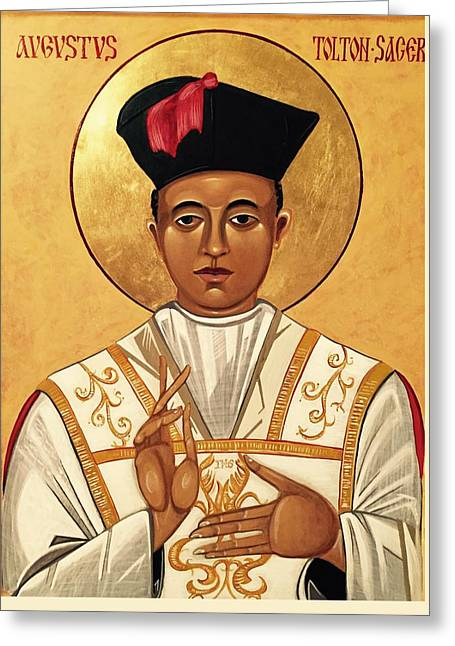 Father Augustus Tolton Greeting Card