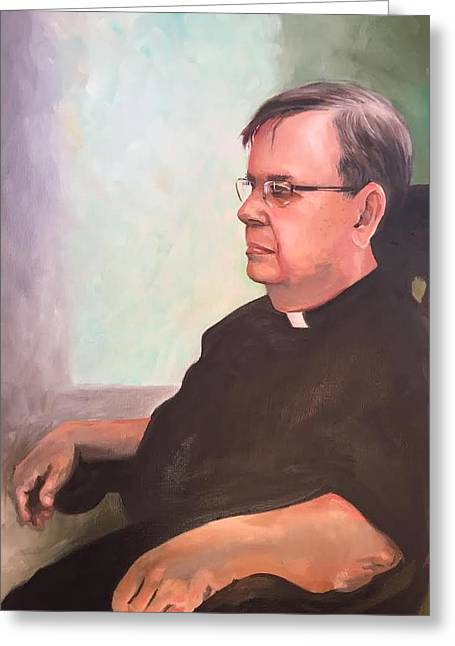 Father Ed Greeting Card