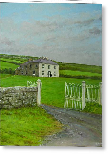 Father Ted Greeting Card by Eamon Doyle