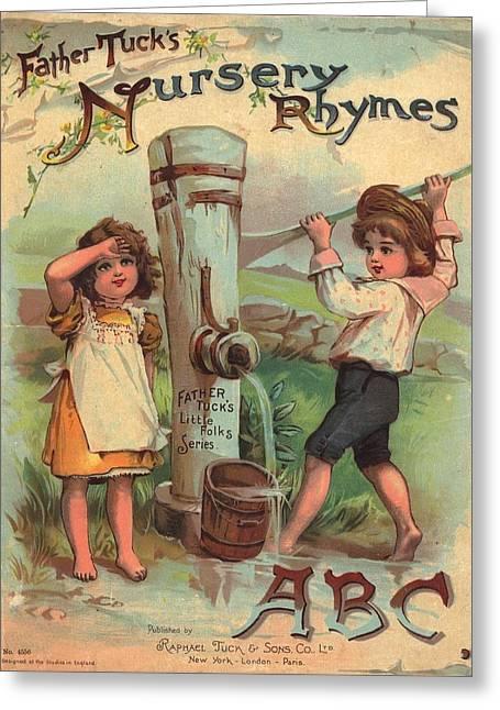 Father Tucks Nursery Rhymes Greeting Card by Reynold Jay