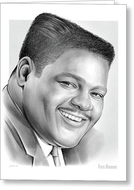 Fats Domino Greeting Card