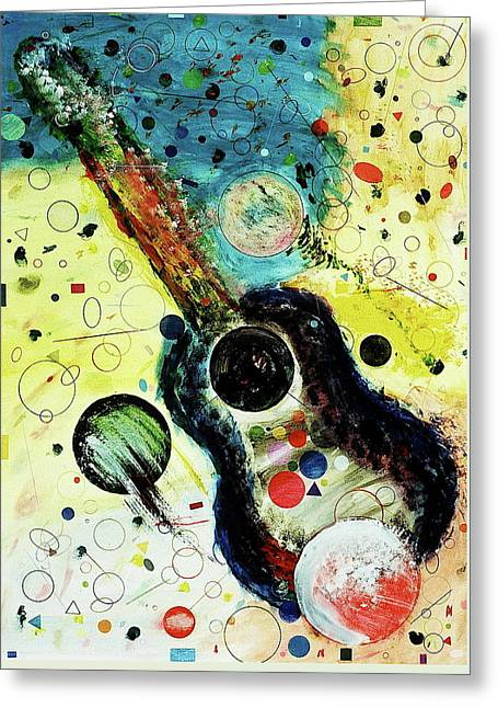 Greeting Card featuring the mixed media Favorites by Michael Lucarelli