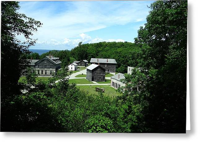 Fayette Historic State Park Greeting Card