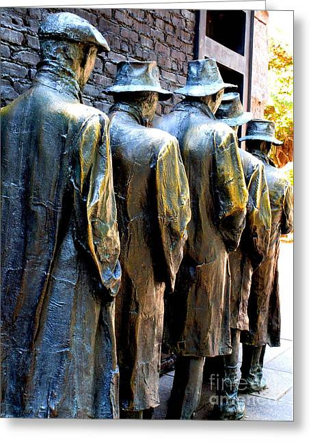 Fdr Memorial 10 Greeting Card by Randall Weidner