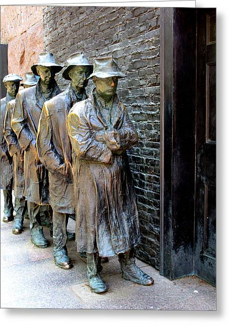 Fdr Memorial 6 Greeting Card by Randall Weidner