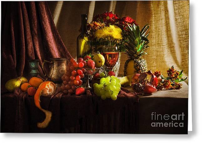 Feast Greeting Card by Svetlana Sewell