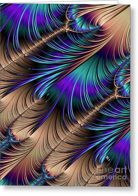 Feather Light Greeting Card