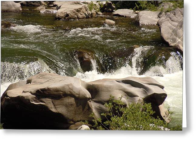 Feather River Canyon Greeting Card by Dan Whittemore