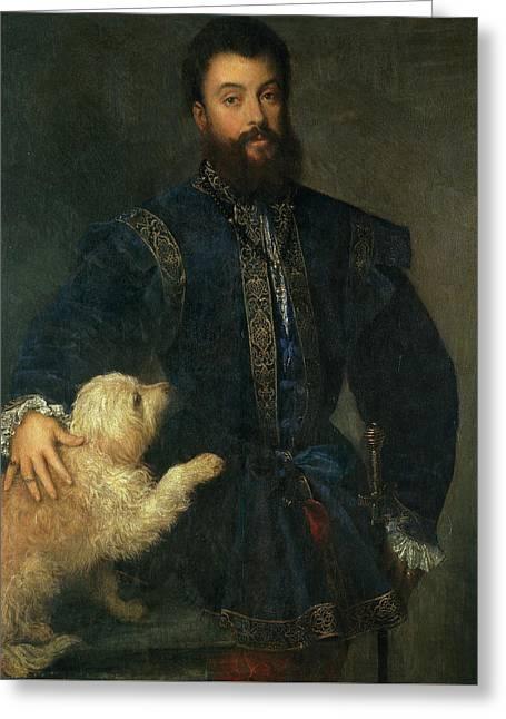 Federico II Gonzaga, I Duke Of Mantua Greeting Card