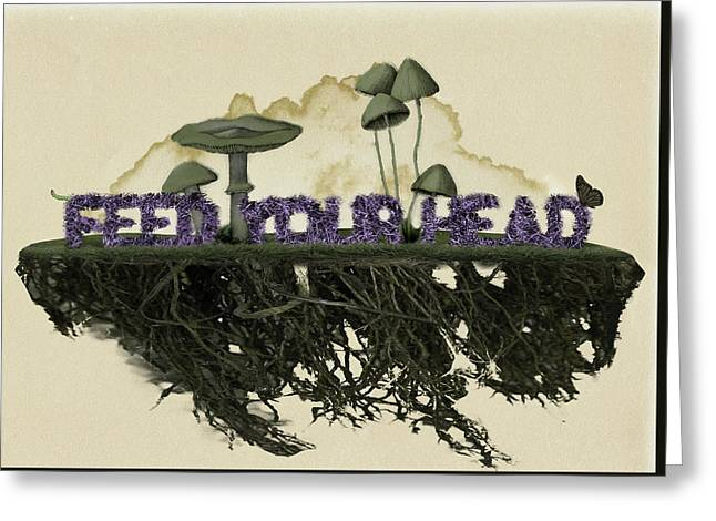 Feed Your Head Greeting Card