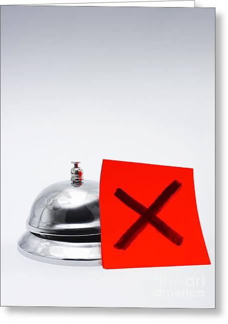 Feedback Of Bad Customer Service Greeting Card by Jorgo Photography - Wall Art Gallery