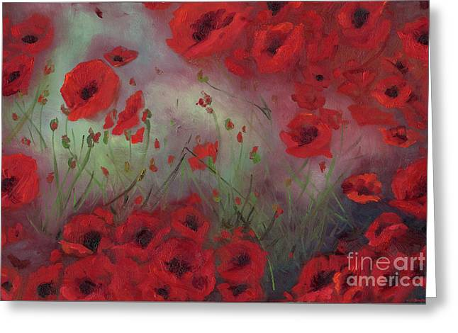 Feeling Poppy Greeting Card